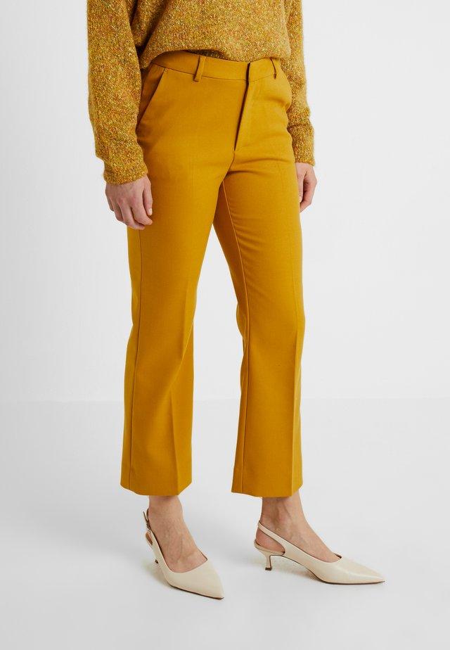 TROUSERS FATIMA - Pantaloni - yellow