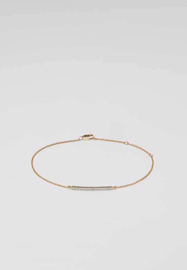 WHITE GOLD - Bracciale - gold-coloured