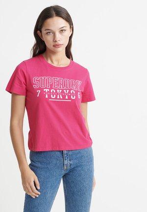 TRACK & FIELD  - Print T-shirt - pink