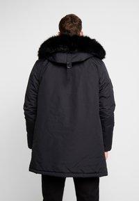 Superdry - EVEREST  - Zimní kabát - jet black - 2