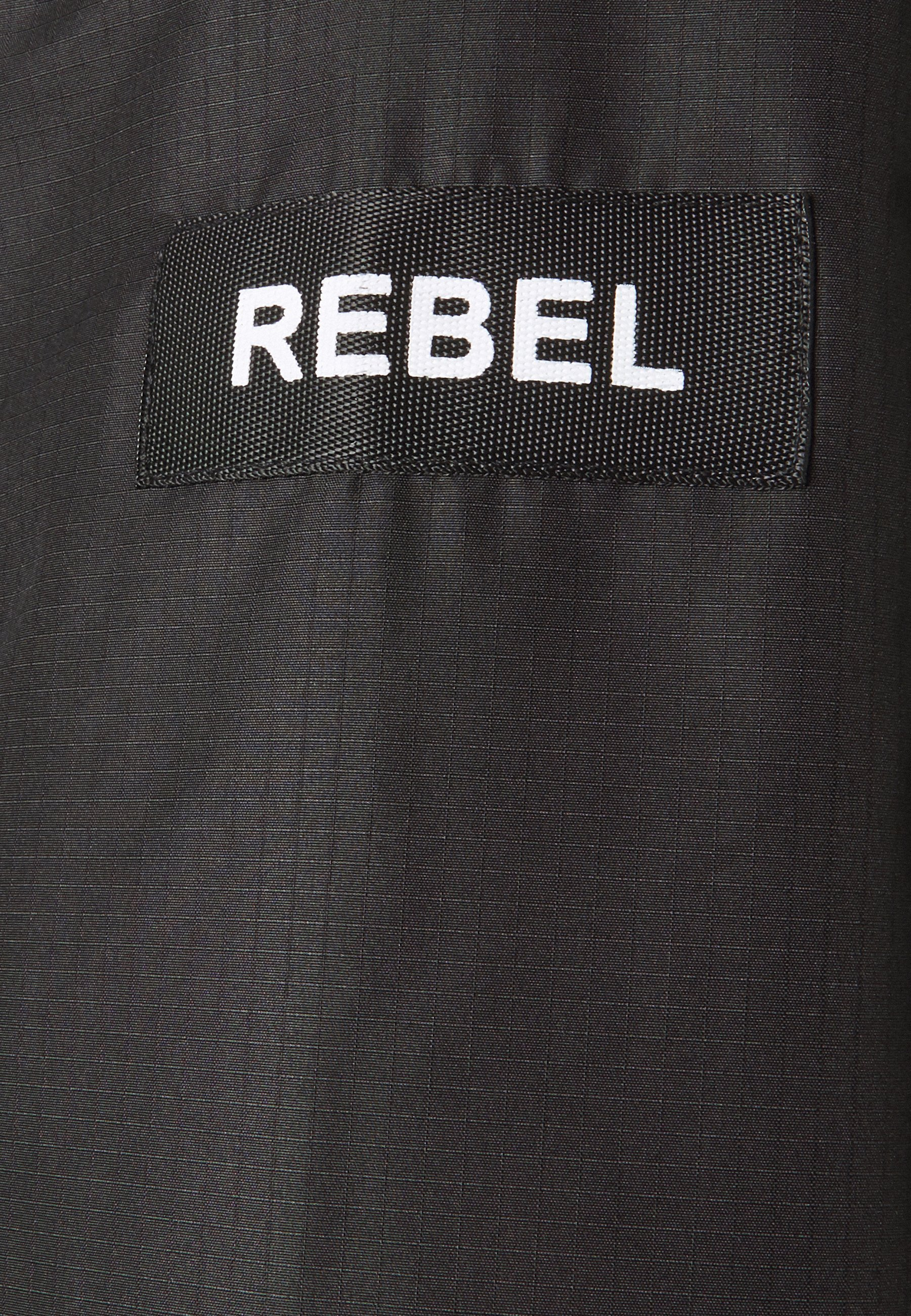 Redefined Rebel RRGALAXY HOOD - Lett jakke - black