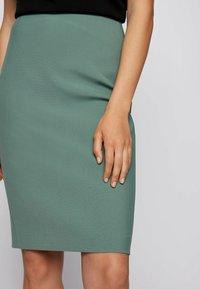 BOSS - VEROKI - Pencil skirt - light green - 3