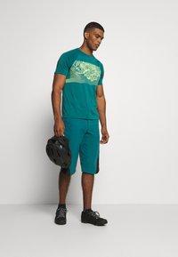 Zimtstern - MAORITZ TEE MENS - T-Shirt print - pacific/sharp green - 1