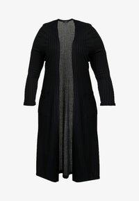 New Look Curves - ONGER POCKET CARDI - Kardigan - black - 4