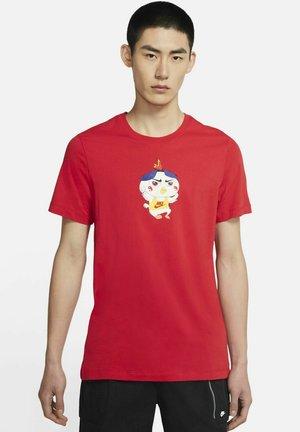 TEE FOOD RAMEN - T-shirt med print - university red