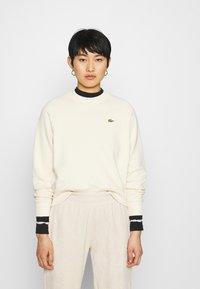 Lacoste LIVE - Sweatshirt - naturel clair - 0