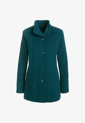 Short coat - aqua