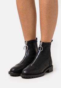 Even&Odd - Kotníkové boty - black - 0