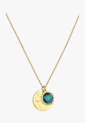 PLATE GEMSTONE - Necklace - gold-coloured