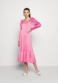 Cras - PILCRAS DRESS - Vapaa-ajan mekko - pink - 0