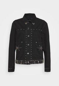 Polo Ralph Lauren - TRUCKER JACKET - Denim jacket - black - 0
