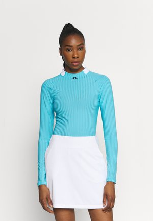 LONG SLEEVE GOLF  - Topper langermet - beach blue