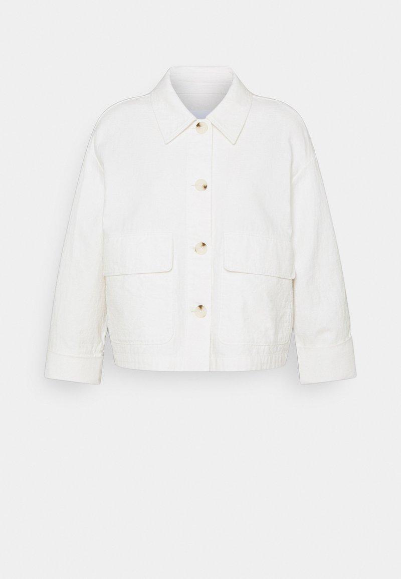 Opus - HOLA - Denim jacket - white