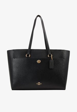 CROSSGRAIN FOLIO TOTE - Tote bag - black