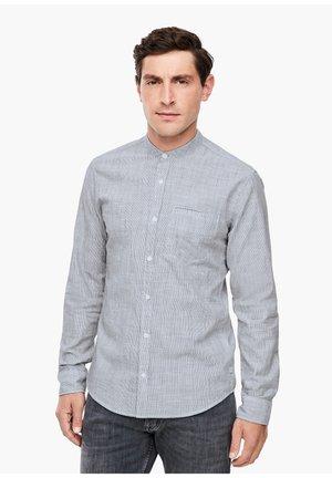 EXTRA SLIM: HEMD MIT STEHKRAGEN - Formal shirt - white stripes