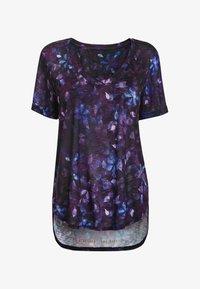 Next - Print T-shirt - lilac - 0