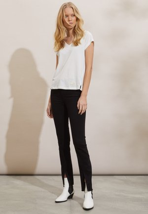 SHERYL - Trousers - almost black