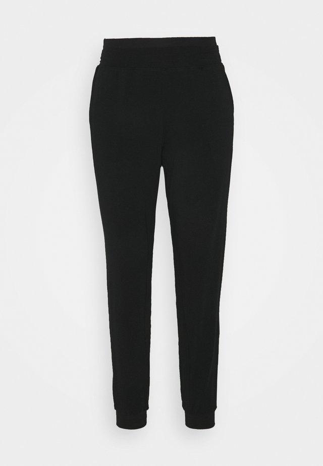 STRETCH PANTS - Träningsbyxor - black