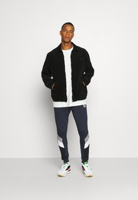 11 DEGREES - MERCURY PRINT CUT AND SEW JOGGERS SKINNY FIT - Tracksuit bottoms - navy - 1