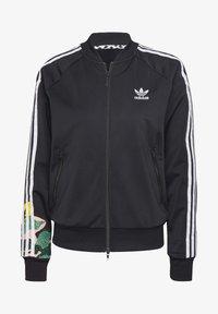 adidas Originals - RACK TOP - Sweatshirt - black - 8