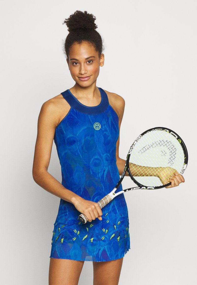 BIDI BADU - TABITA TECH DRESS - Sports dress - dark blue
