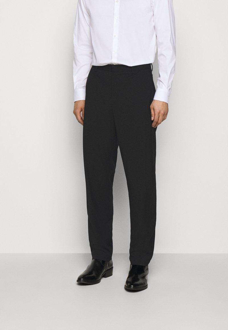 Emporio Armani - Oblekové kalhoty - black