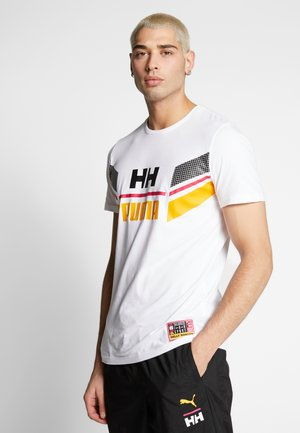 X HELLY HANSEN TEE - T-shirt print - white