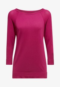 Esprit Sports - MIT STRUKTUR-DETAILS - Sports shirt - dark pink - 5