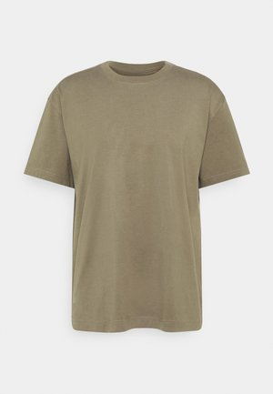 OVERSIZED - Basic T-shirt - brown