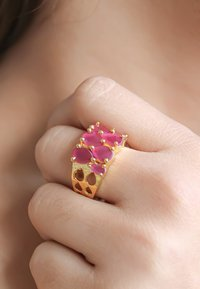Bombay Sunset - STEPPING STONE - Anello - red - 0