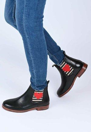JULIA MIT HERZ - Classic ankle boots - black