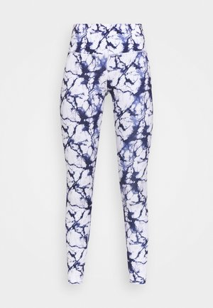 OH MY SQUAT LEGGING MARBLE - Medias - snow white