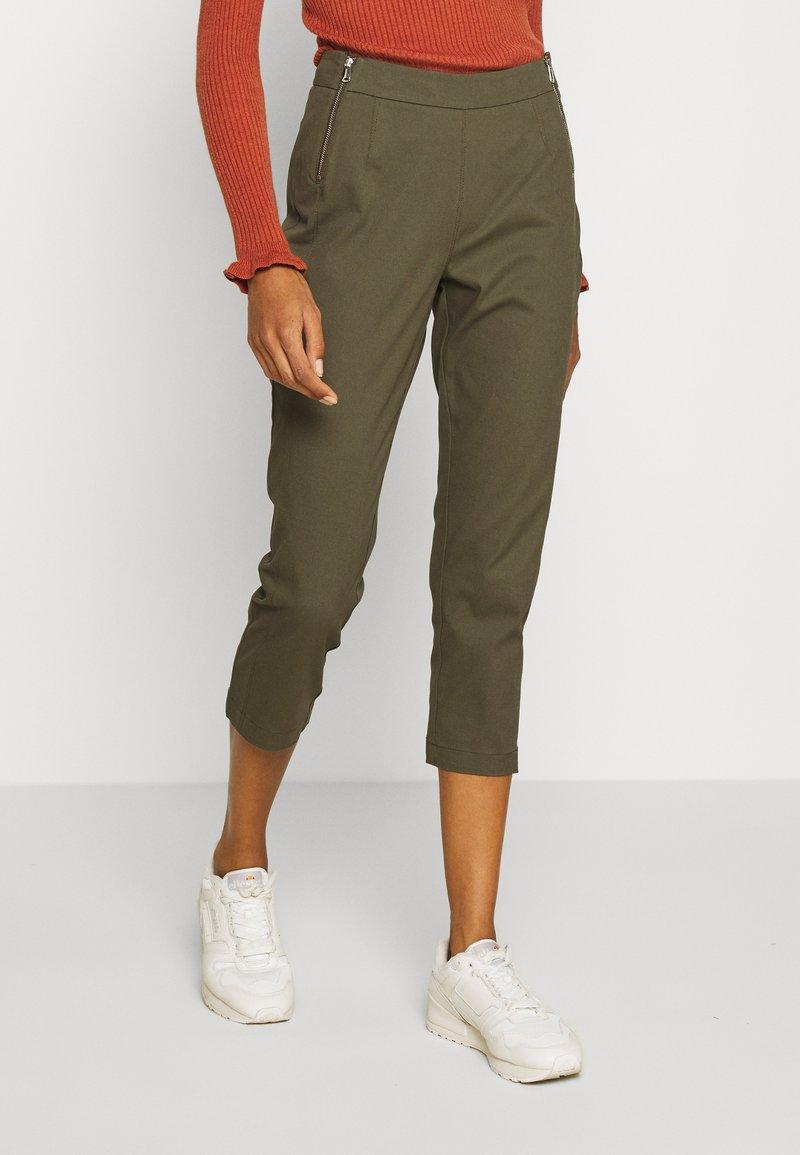 comma - Trousers - khaki