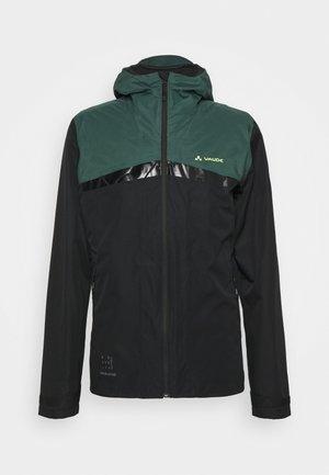 MENS ALL YEAR MOAB 3IN1 RAIN JACKET - Hardshell jacket - black