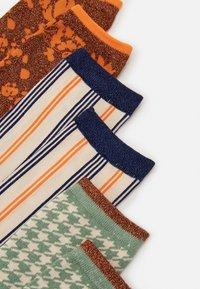 Selected Femme - SLF VIDA SOCK 3 PACK - Socks - sandshell - 1