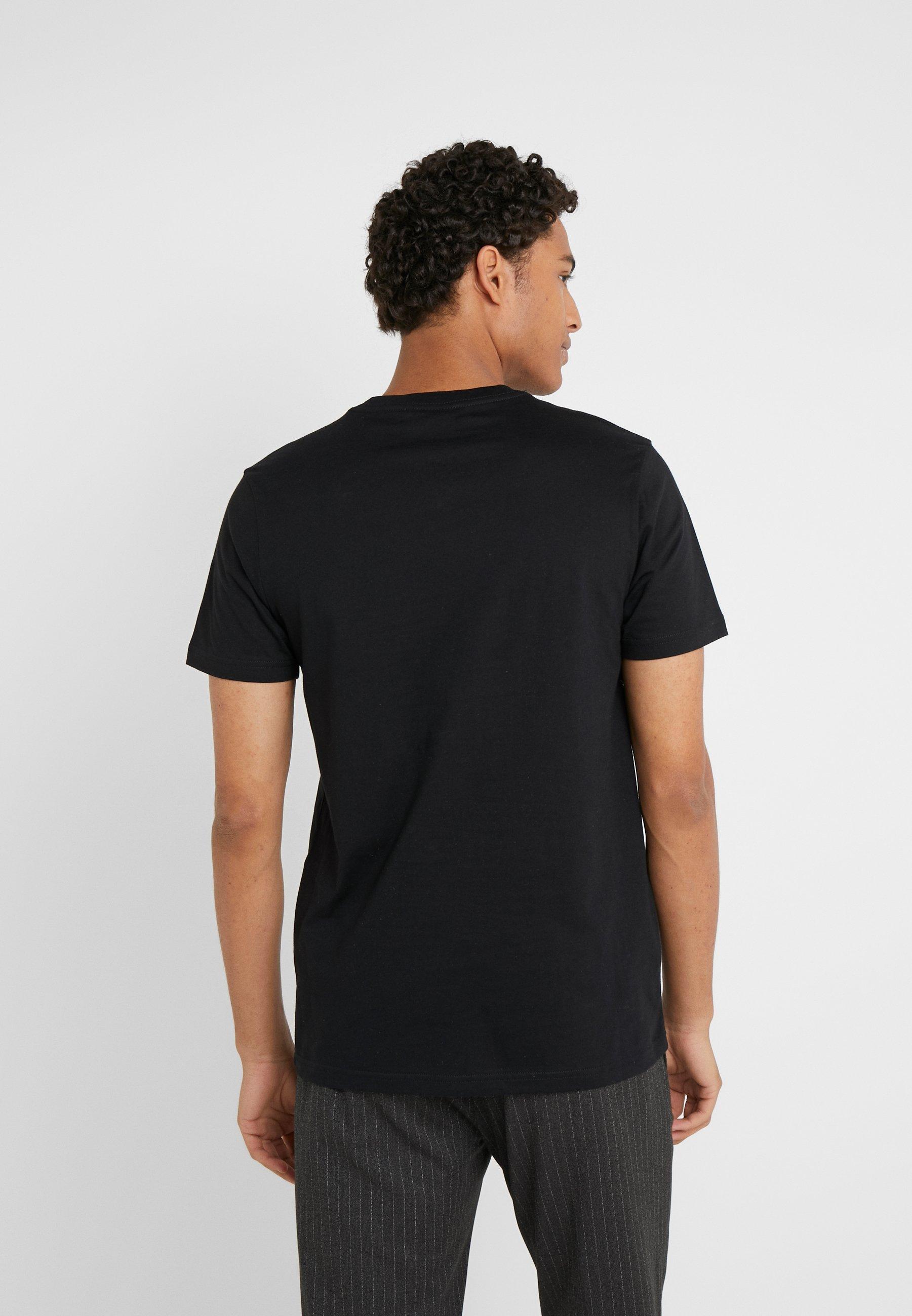 PS Paul Smith SLIM FIT INTERFEARENCE - Print T-shirt - black sPd2Z