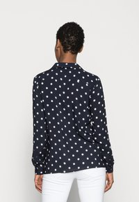More & More - DOTTED BLOUSE - Blouse - marine - 2