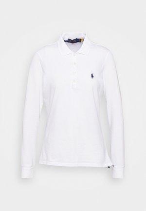 KATE LONG SLEEVE - Polo shirt - pure white