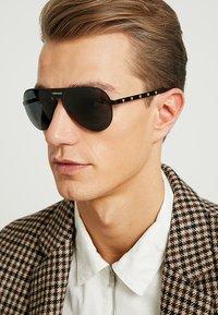 Versace - Sunglasses - black/grey - 1