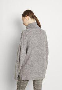 Even&Odd - Jumper - mottled grey - 2