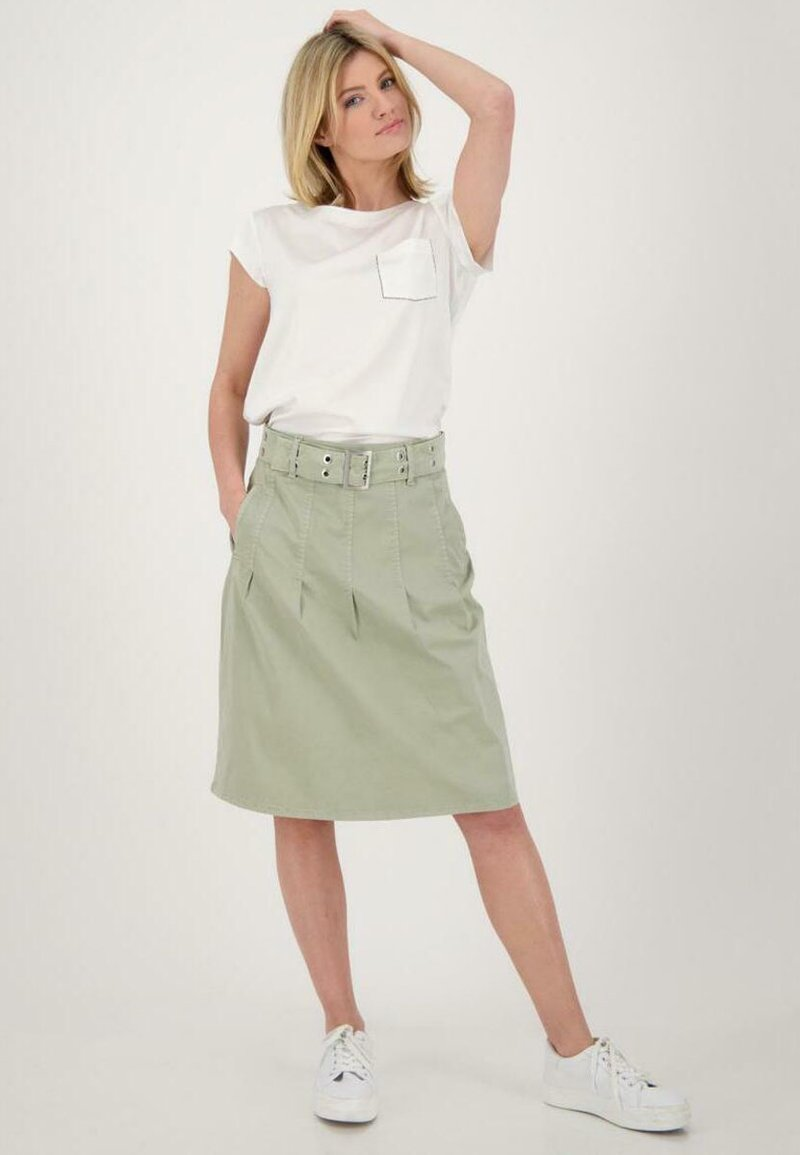 Monari - Print T-shirt - off white