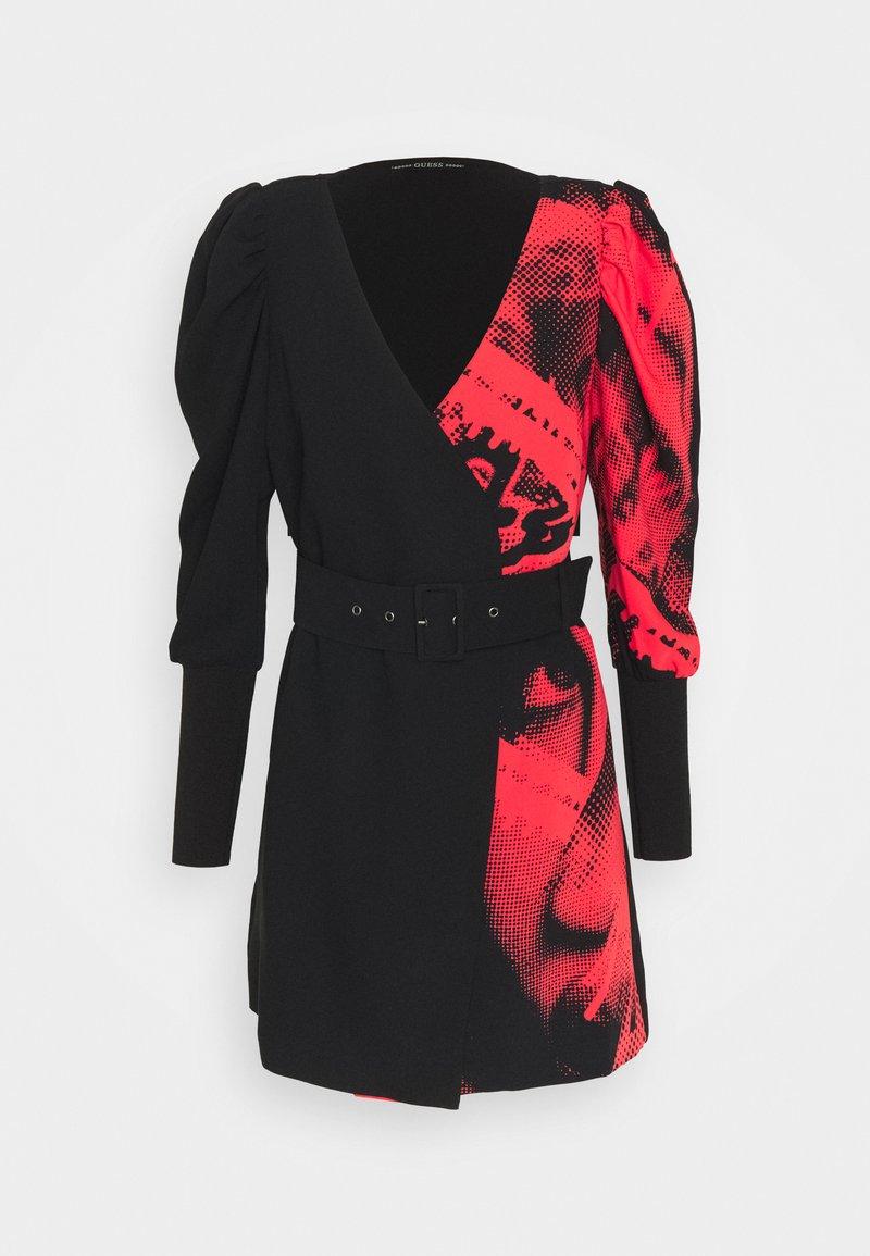 Guess - BRISILDA DRESS - Day dress - red/black