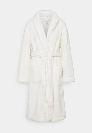 ROBE TEDDY - Dressing gown - off-white