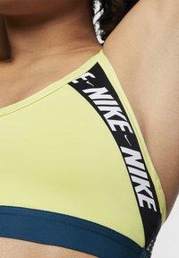 Nike Performance - INDY  - Sports bra - lime light/valerian blue/white - 3