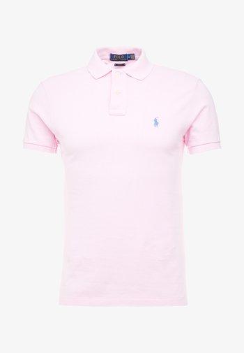 SLIM FIT MESH POLO SHIRT - Polo shirt - carmel pink