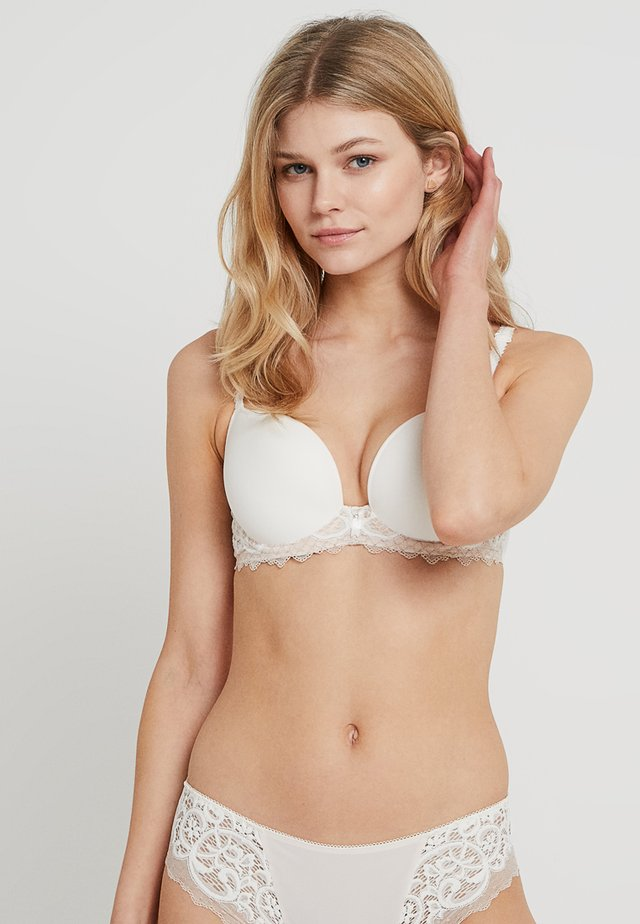 ESSENTIEL CONTOUR BRA - T-shirt BH - cream/powder