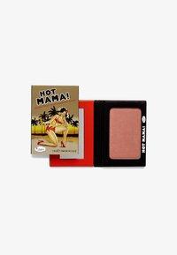 the Balm - HOT MAMA SHADOW & BLUSH - Blusher - rose - 0