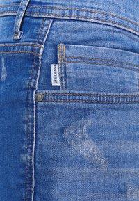 Blend - SCRATCHES - Jeansshort - blue denim - 2
