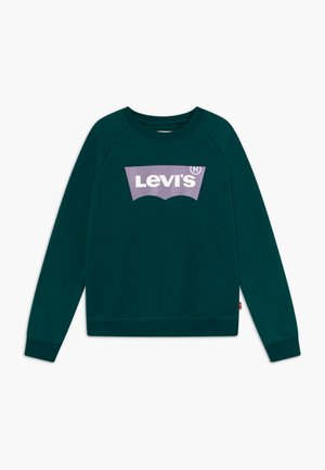 KEY ITEM LOGO CREW - Mikina - deep teal