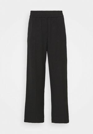 SMILLA STRAIGHT TROUSERS - Trousers - black